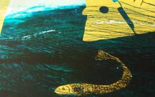 Midnight Sail ii; keel detail