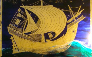 Night Sail 1 (2011) 20x30cm