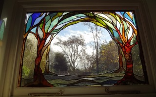 Garden Window; designed & made for Edwardian house in London
