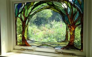 Garden window for Ewardian House 76cm x 109cm